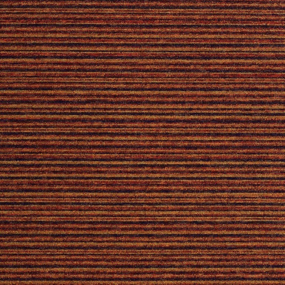 Burmatex Tivoli Multiline Reunion Terracotta Carpet Tile