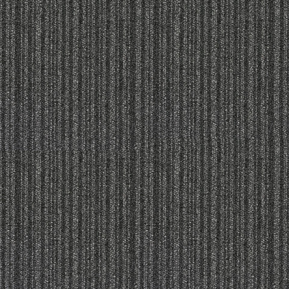 Black and white striped carpet tiles carpet vidalondon for Black and white patterned carpet