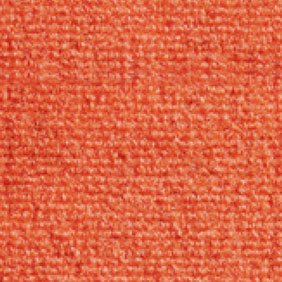 Heckmondwike Broadrib Orange Carpet Tile