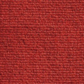 Heckmondwike Broadrib Red Carpet Tile