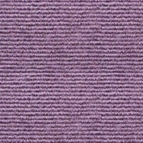 Heckmondwike Broadrib Violet Carpet Tile