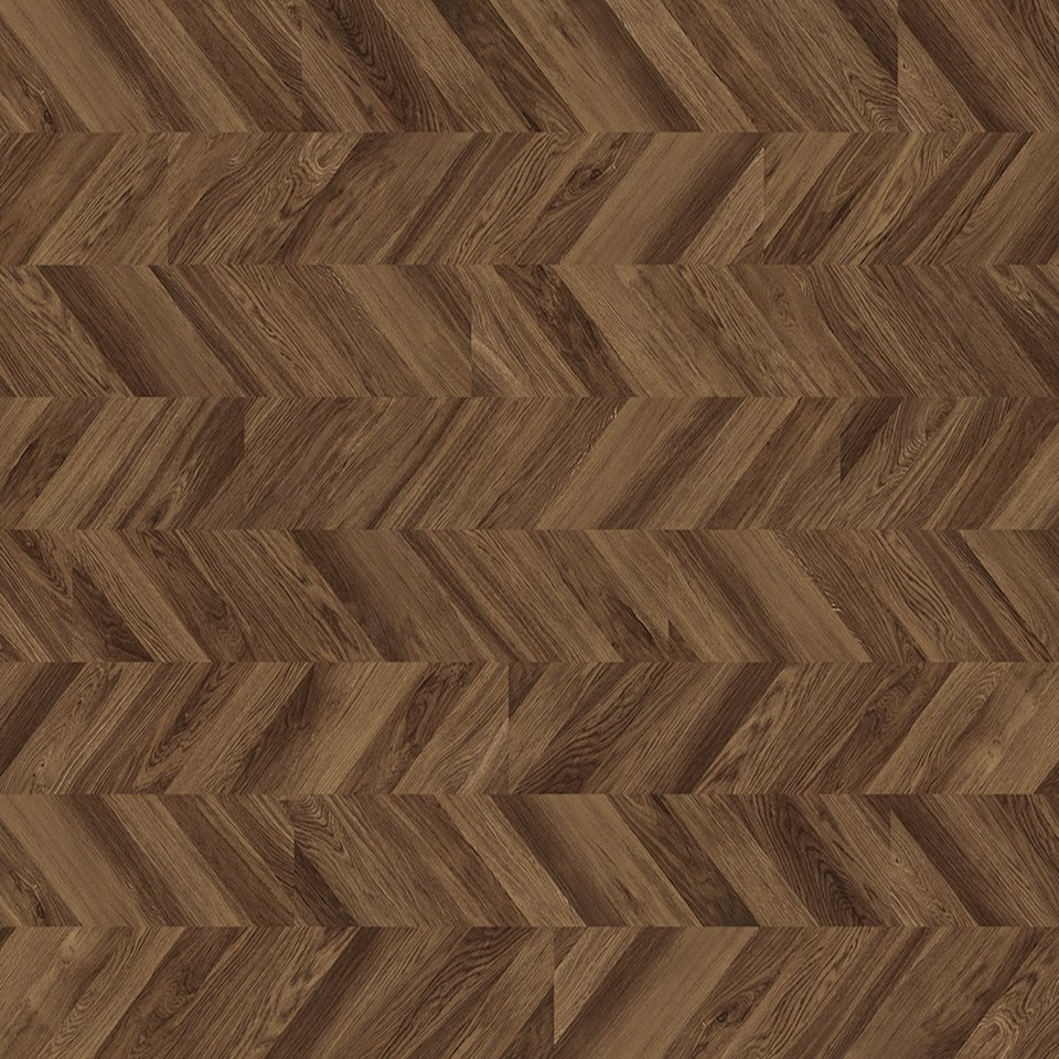 Polyflor Expona Commercial Tanned Chevron Parquet